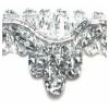 """Metallic 1/2"""" Chandellier Trim Silver"""